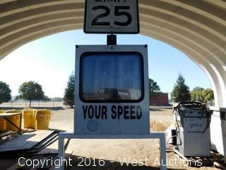 2005 MPH Industries Radar Speed Sign System