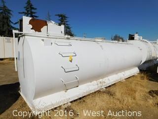 Sannipoli Tank Corp 2,000 Gallon Above Ground UL 2085 Fuel Tank