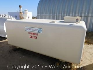 Trosco Supervault 1,000 Gallon UL 2085 Above Ground Fuel Tank