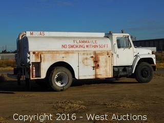1988 International S1700 2,000 Gallon Airport Fuel Truck
