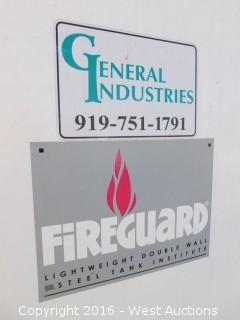 STI Fireguard 8,000 Gallon UL 2085 Light Weight Double Wall Fuel Tank