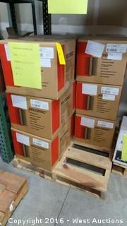 Pallet of (10) BECODISC Silicone Double O-Ring Adapters