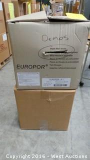 (2) Boxes of Europor K1 Depth Filter Sheets and Unipor Grade C-1