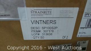 Box of (50) Strainrite Filter Bags