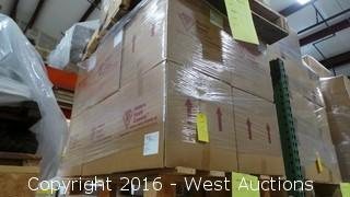 Pallet of (12) Boxes of Europor K-10 Depth Filter Sheets