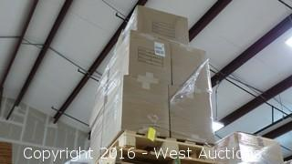 Pallet of (10) Boxes of Polypropylene Felt Filter Bags
