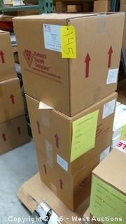 (3) Boxes of Europor K-10 Depth Filter Sheets