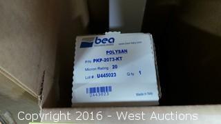 (2) Bea Technologies Polysan Cartridge Filters