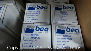 (20) Bea Technologies Polysan Filter Cartridges