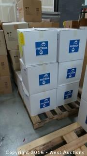 (6) Boxes of Fibrafix Filter Sheets