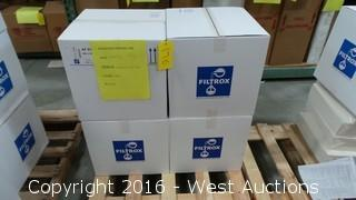 (4) Boxes of Fibrafix Filter Sheets