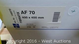 (3) Boxes of Fibrafix AF-70 Filter Sheets