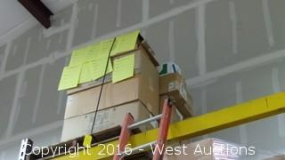 Pallet of Orchid Growing Trays and Fiber