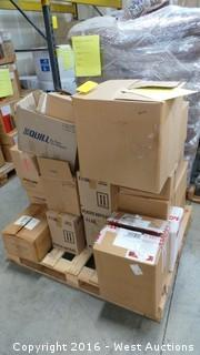Pallet of Plant Nutritional Supplements