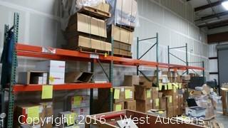 (4) Sections of Pallet Racking