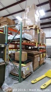 (2) Sections of Pallet Racking