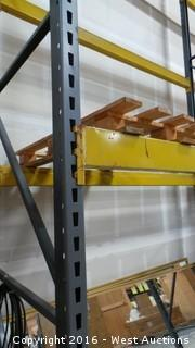 (6) Sections of Pallet Racking