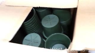 (3) Boxes of Plant Pots
