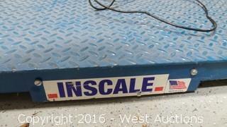 Inscale Platform Scale 5,000 lb. Capacity