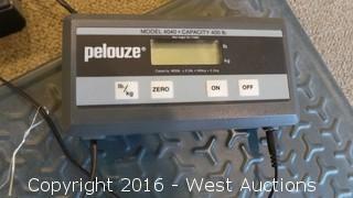 Pelouze Digital Scale 400 lb Capacity