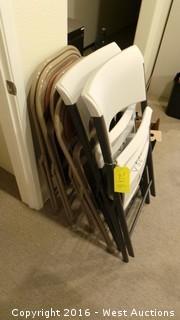 (6) Folding Chairs