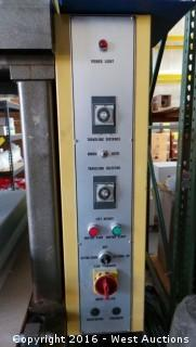 Sysco Machine Corp THNC-3079 Hydraulic Die Cutting Press