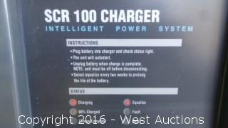 SCR 100 36 Volt Battery Charger