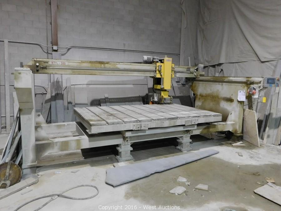 Auction #1: Liquidation of Stone Fabricator Machinery and Inventory