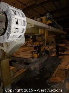 Kete KTY2-350 Whole Bridge Automatic Stone Saw