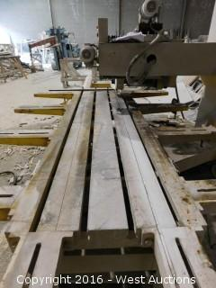 Kete KTC-800 Granite Slab Saw
