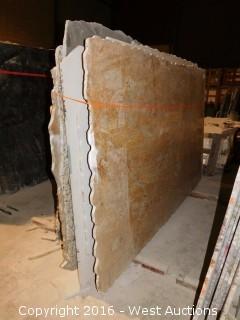 (16) Granite Slabs