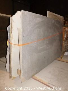 (18) Granite Slabs with Remnants