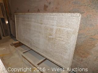 (4) Granite Slabs