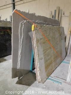 (7) Granite Slabs