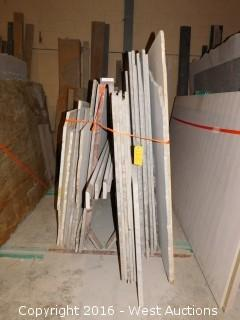 (27) Granite Slabs with Remnants