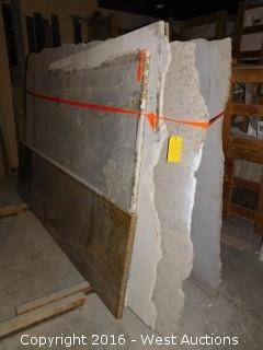 (10) Granite Slabs with Remnants