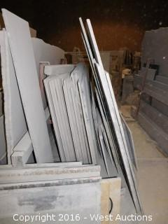 (44) Granite Slabs with Remnants