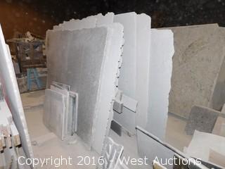 (21) Granite Slabs with Remnants
