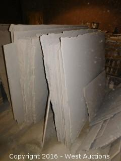 (41) Granite Slabs with Remnants