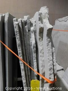 (20) Granite Slabs with Remnants
