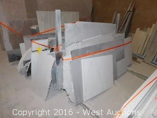 (22) Granite Slabs and Remnants