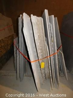 (28) Granite Slabs with Remnants