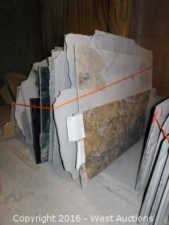 (42) Granite Slabs with Remnants
