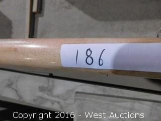 """(1) 65-1/4""""x26"""" Pre-Fabricated Marble Countertop"""