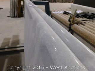 "(1) 67""x26"" Pre-Fabricated Marble Countertop"
