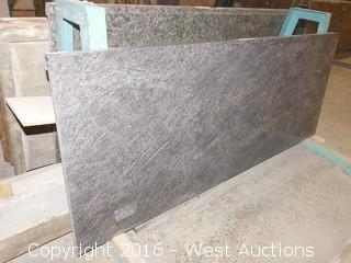 "(1) 57-3/4""x26"" Pre-Fabricated Granite Countertop"