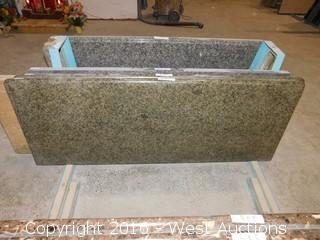 "(1) 62""x26"" Pre-Fabricated Granite Countertop"