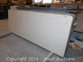 "(1) 62""x26"" Pre Fabricated Granite Countertop"
