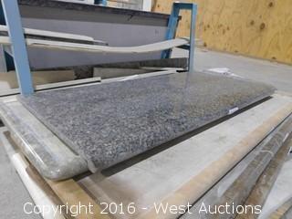 "(1) 52-3/4""x26"" Pre-Fabricated Granite Countertop"