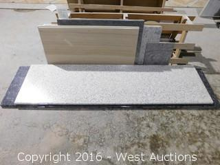 "(1) 96""x26"" Pre-Fabricated Granite Countertop"